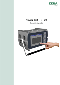 Moving Test – MT551
