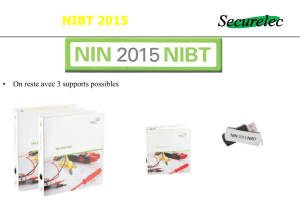 NIBT 2015 - Securelec