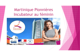 martinique pionnieres en images