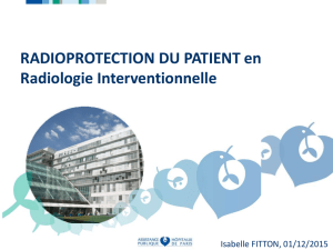 RADIOPROTECTION DU PATIENT