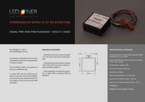 interfaces int-epwm 1c et int-epwm rgb - LED-NER