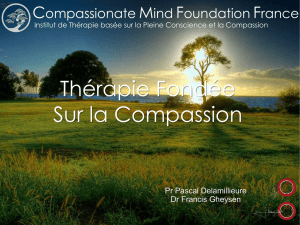 Compassion Focused-Therapy Mindfulness Training