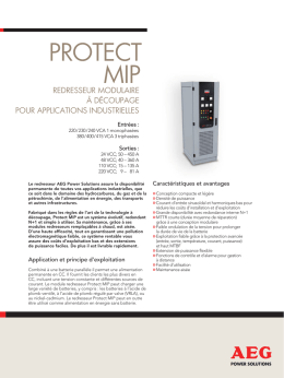 protect mip - AEG Power Solutions