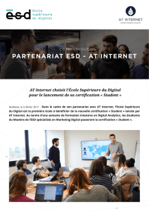 partenariat esd - at internet