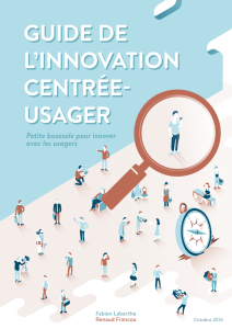Guide de l`innovation centrée-usager