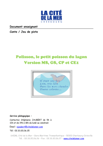 Polisson, le petit poisson du lagon Version MS, GS, CP et CE1