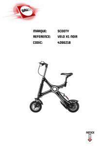 marque: scooty reference: velo x1 noir codic: 4266218