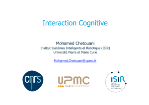Interaction Cognitive
