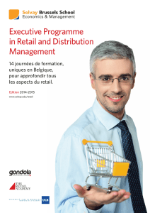 Executive Programme in Retail and Distribution Management