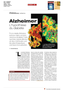 Alzheimer - Clinique Pasteur