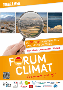 Forum Climat - Grand Troyes