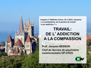 de l`addiction a la compassion