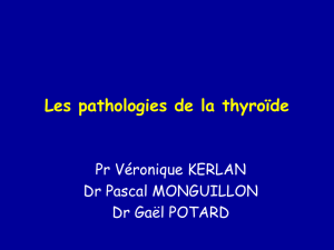 Les pathologies de la thyroide - sante