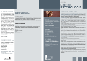 psychologie - Université Grenoble Alpes