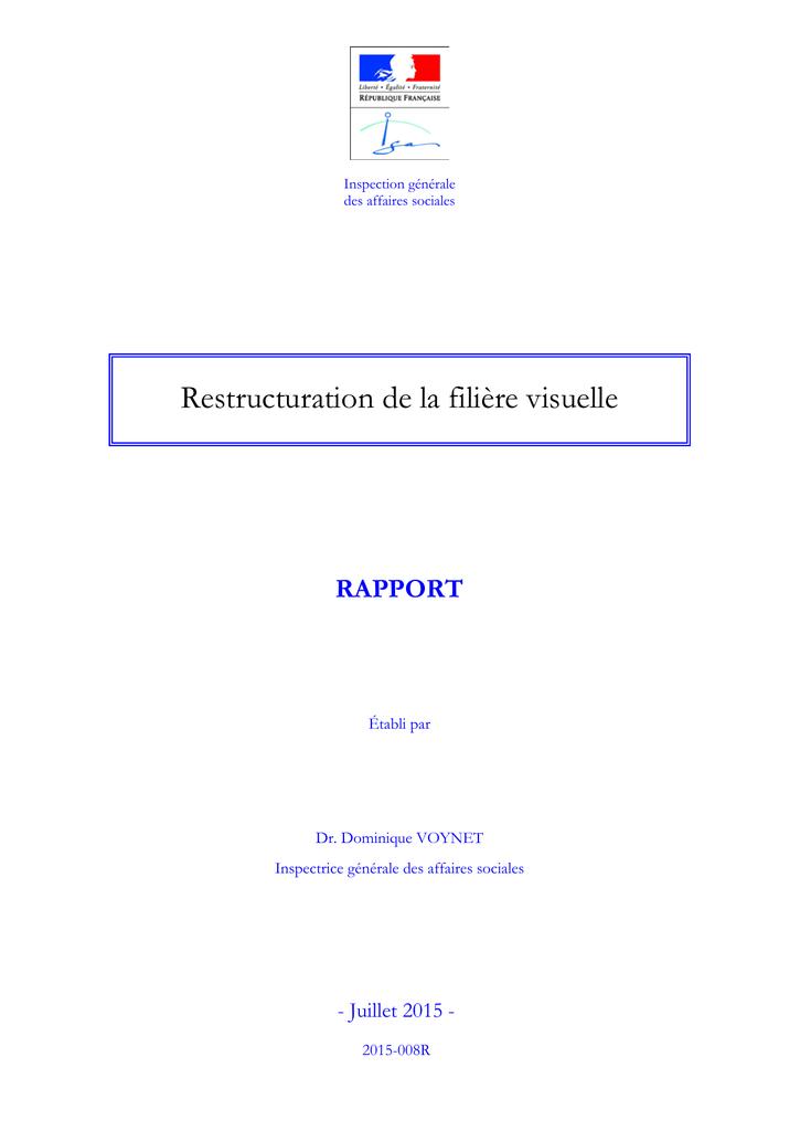 ce74623fc9 ... Dominique VOYNET Inspectrice générale des affaires sociales - Juillet 2015  2015-008R 2 IGAS, RAPPORT N°2015-008R IGAS, RAPPORT N°2015-008R 3 SYNTHESE 1  ...
