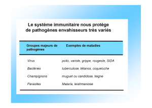 LA NOTION D`ANTIGENE
