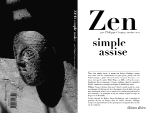 Zen, simple assise - Prologue Numérique