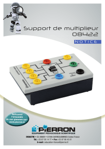 Support de multiplieur 08422