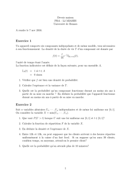 Devoir maison no 2
