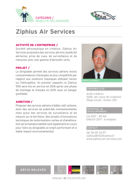 Ziphius Air Services - Crisalide Eco