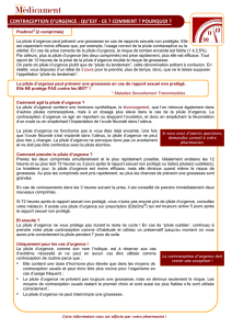 Contraception d`urgence - Postinor 2 comprimés DOWNLOAD