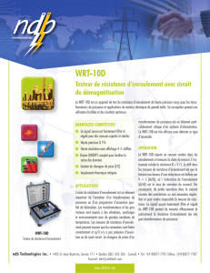 WRT-10D - Physical Instruments