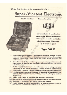 AEE Super Vicatest Electronic 362D