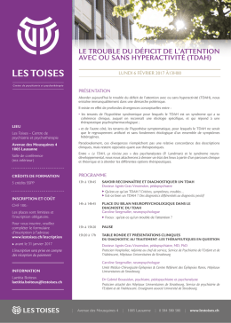 Consulter le flyer