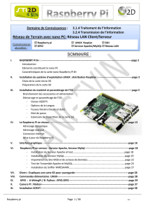 (Tutoriel RASPBERRY PI).