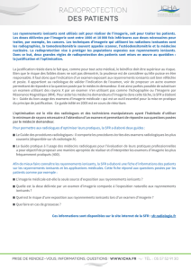 Radioprotection des Patients - icha.fr
