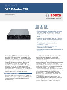 DSA E-Series 3TB - Bosch Security Systems