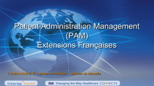 Patient Administration Management (PAM)