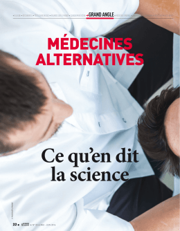 MédeciNes alterNatives