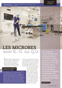 article du Saint-Luc Magazine - Cliniques universitaires Saint-Luc
