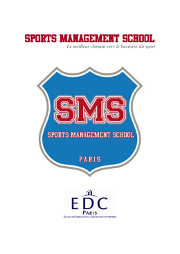 sports management school sports management school