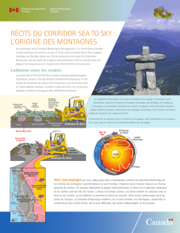 Récits du coRRidoR sea to sky - Publications du gouvernement du