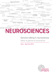 Genome editing in neurosciences - Institut Clinique de la Souris
