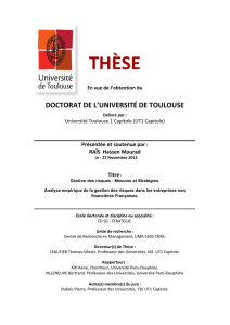 doctorat de l`université de toulouse