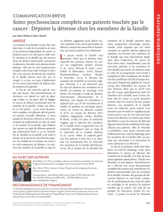 Summer 2015.indd - Canadian Oncology Nursing Journal