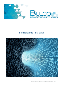 "Bibliographie ""Big Data"" - E"