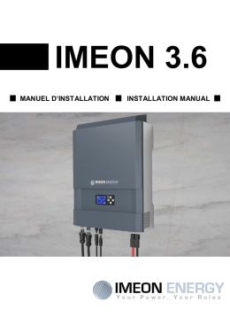 ONDULEUR IMEON 3.0