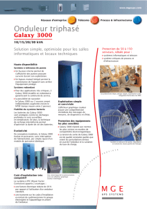 Galaxy 3000 - Onduleurs.fr