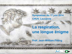 Une longue énigme Prof. Jean-William Fitting