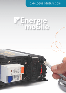 Catalogue 2016 - Energie Mobile