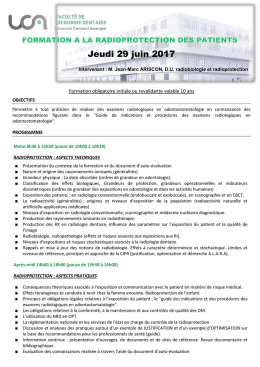 programme et bulletin d`inscription