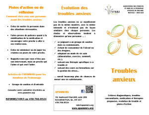 Troubles anxieux - APAMM-RS