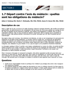 Départ contre l`avis du médecin - The Royal College of Physicians