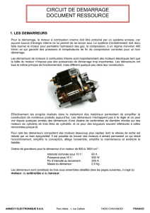 CIRCUIT DE DEMARRAGE DOCUMENT RESSOURCE
