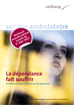 Brochure d`information service ambulatoire Bienne