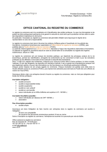 Office cantonal du Registre du commerce (RC)